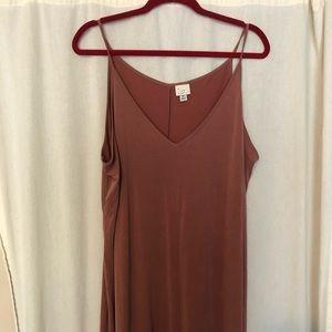 Mauve Midi Dress